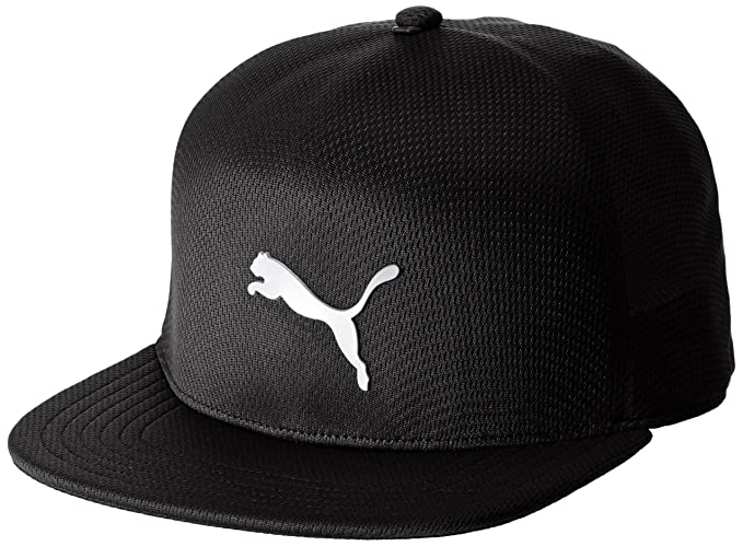 79a9364f587df Puma Golf Mens Evoknit Fitted Cap - Black - M L  Amazon.co.uk  Clothing