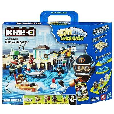 KRE-O CityVille Invasion Marina Madness Set (A3249): Toys & Games [5Bkhe1800924]