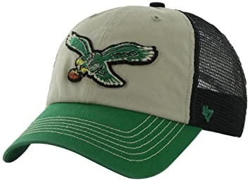 161b31ce9c3 Image Unavailable. Image not available for. Colour  NFL Philadelphia Eagles   47 Brand McNally Clean Up Adjustable Hat ...