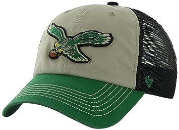 b7e3ccf0 NFL Philadelphia Eagles '47 Brand McNally Clean Up Adjustable Hat ...