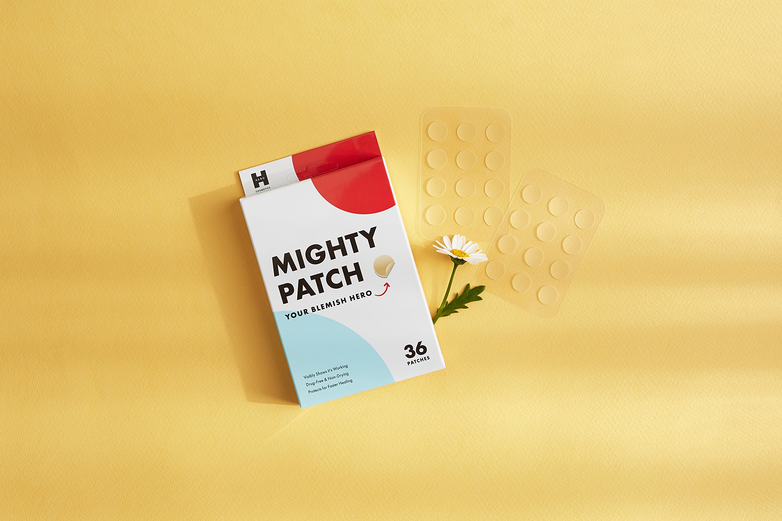 Mighty Patch Hydrocolloid Acne Absorbing Spot Dot (12mm 36 count) by Mighty Patch (Image #6)