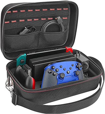 Funda para Nintendo Switch Deluxe protectora Gran Capacidad para ...