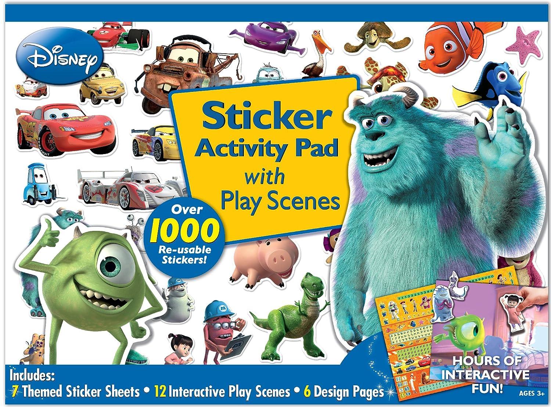 Bendon Disney Pixar's Monsters Inc Ultimate Sticker Activity Pad
