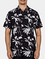 Camisa Dark Flowers