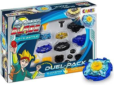 CRAZE BLADEZ Duel Pack 2 Spinning Gyro Incluye Accesorios ...