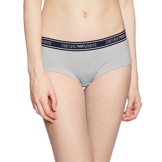 614cfc05f254b Emporio Armani Women s Iconic Logoband Cheeky Pants at Amazon ...