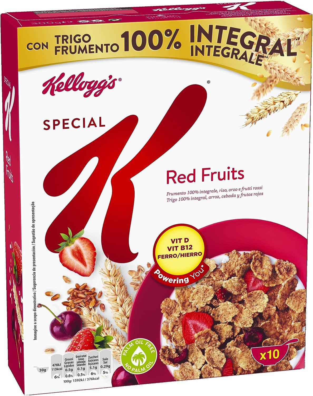 Kelloggs Special K Frutas Rojas Cereales, 300g: Amazon.es ...