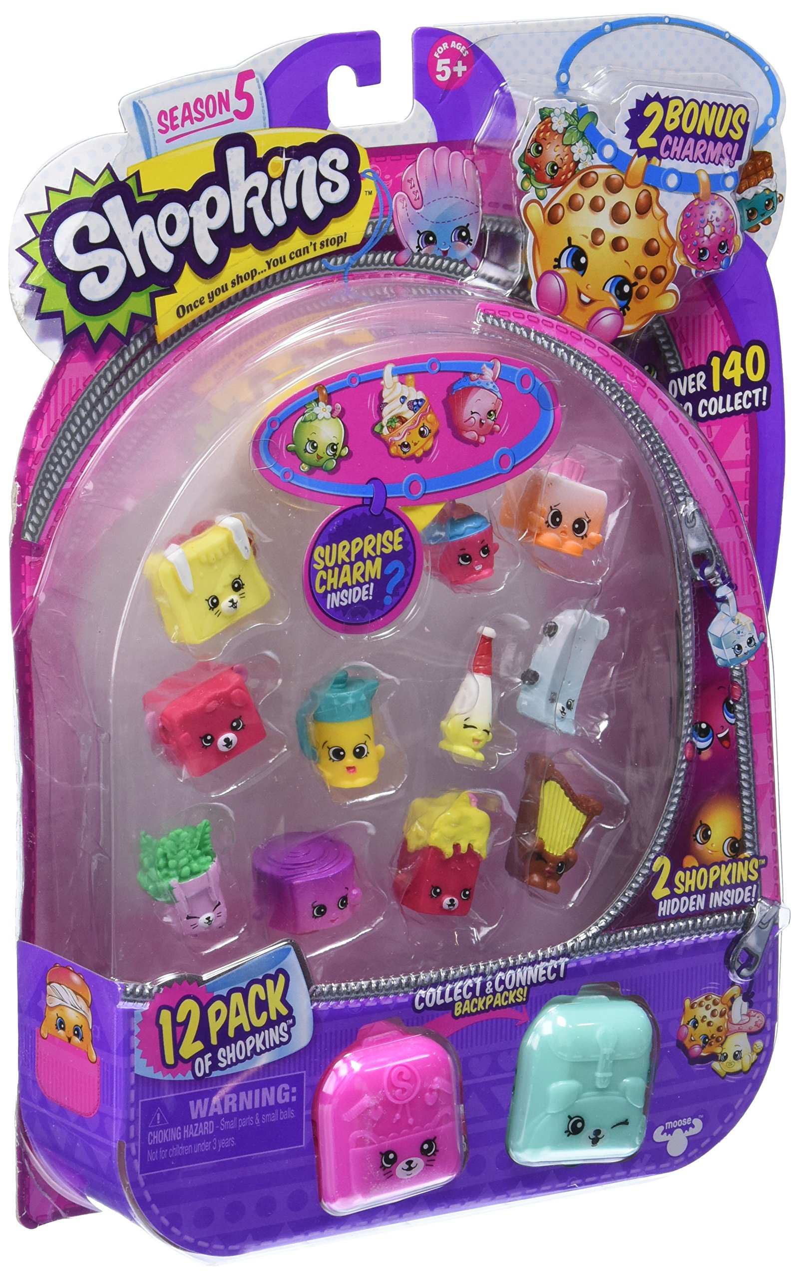 Toys For Girls 9 12 From Smith S : Amazon shopkins so cool fridge toys games