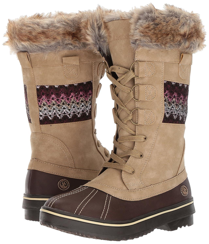 Northside Women's Bishop B(M) Snow Boot B01MUFTUF0 8 B(M) Bishop US|Tan/Berry 447538