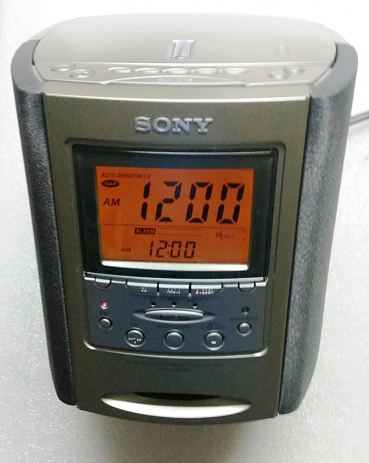 B0000995KT Sony ICF-CD863V AM/FM/TV/Weather Clock Radio/CD Player (Discontinued by Manufacturer) 91ckfpfP5lL.SL1500_