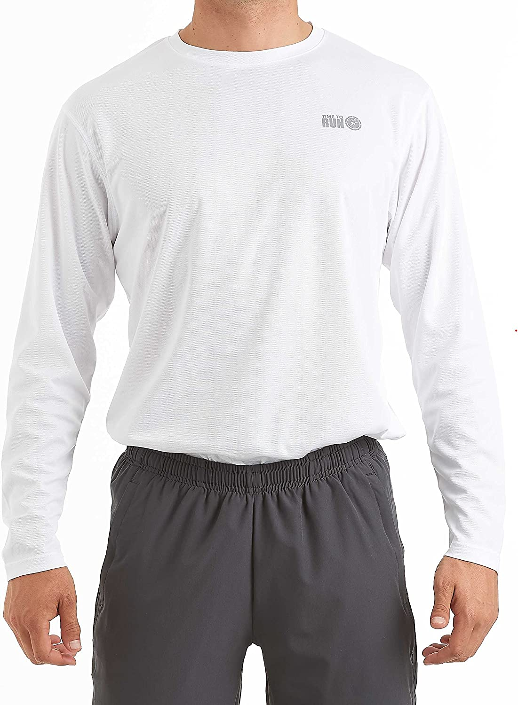 Time To Run Hombres Favourite Camiseta De Running//Gimnasio//Formaci/ón Manga Corta