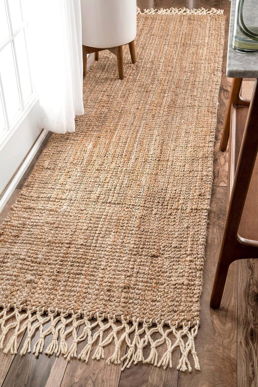 Details about  /Runner Indian Floor Rug Kilim 2x6/' Wool Jute Area Rug Handwoven Pray Yoga Mat