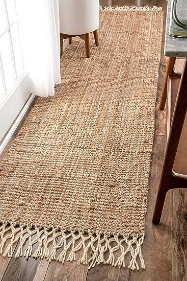 nuLOOM Raleigh Hand Woven Wool Runner Rug, 2\' 6\