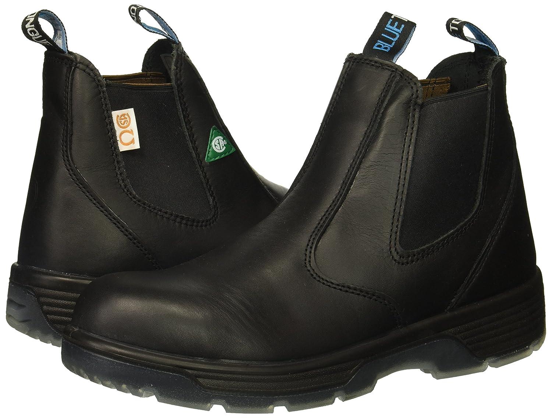 Black 6 Slip On Composite Toe Safety Boot Size 12