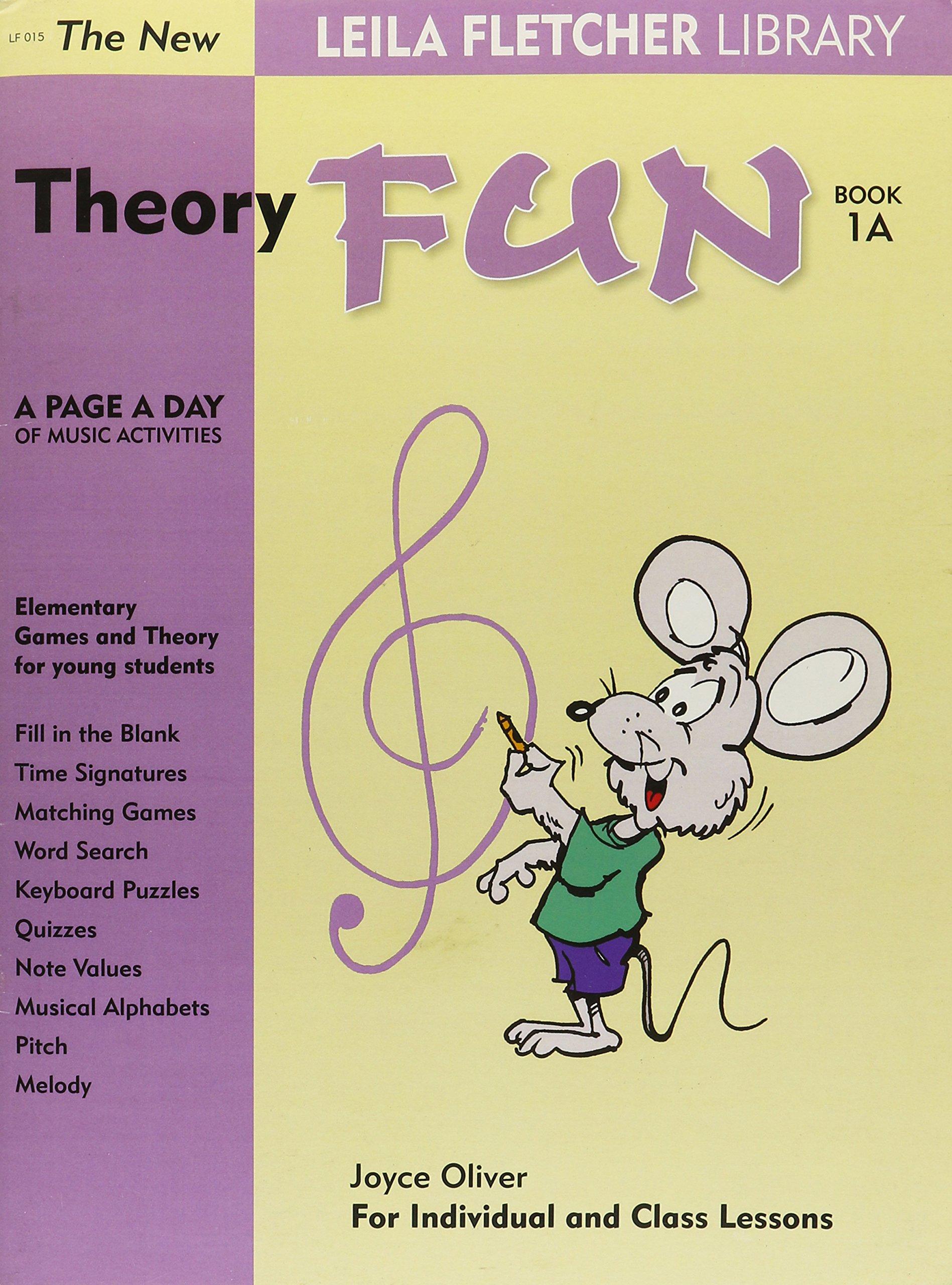 Leila Fletcher Music THEORY FUN Book 1B  by Debra Wanless.