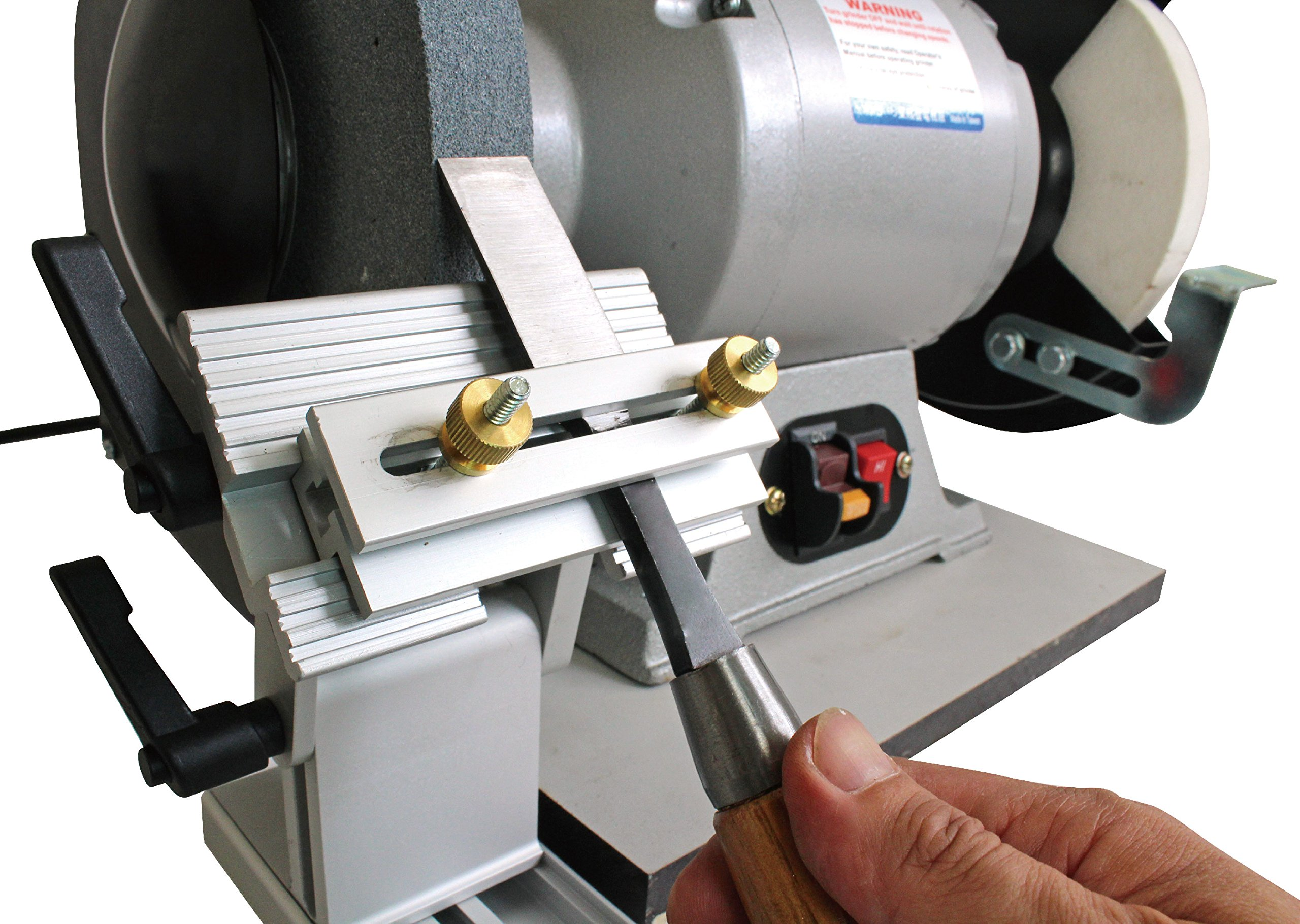 "Bench Grinder Replacement Sharpening Tool Rest Jig for 6"" and 8"" Grinders and Sanders BG by Taylor Toolworks (Image #2)"