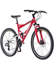 "Schwinn Protocol 1.0 Men's Dual-Suspension Mountain Bike, 26"" Wheels, Multiple Colors"