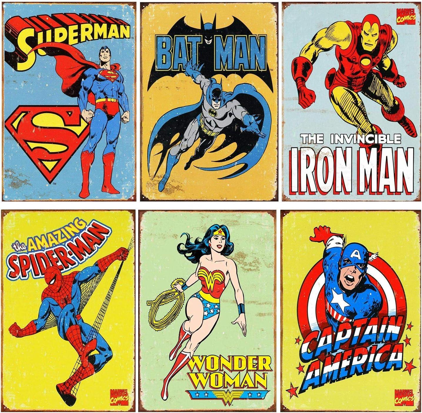 THE LAST SUPPER HULK WONDER WOMAN SPIDERMAN IRON MAN SUPERMAN PUBLICITY PHOTO
