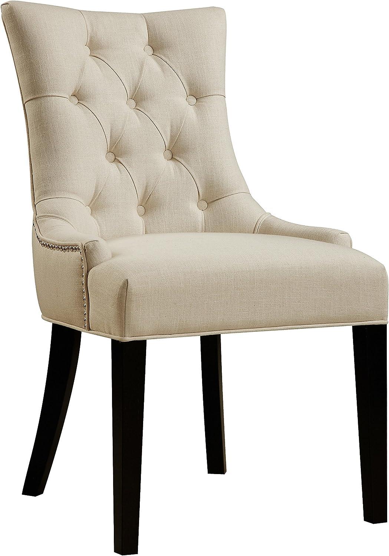 Pulaski DS-2514-900-386 Tufted Upholstered Dining Chair, White