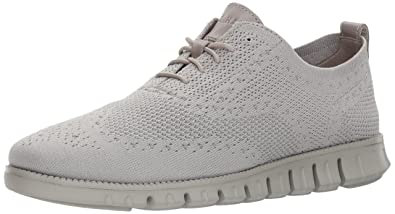 Cole Haan Men's Zerogrand Knit Winterized Oxford, Rock Ridge/Rock Ridge, 7  Medium