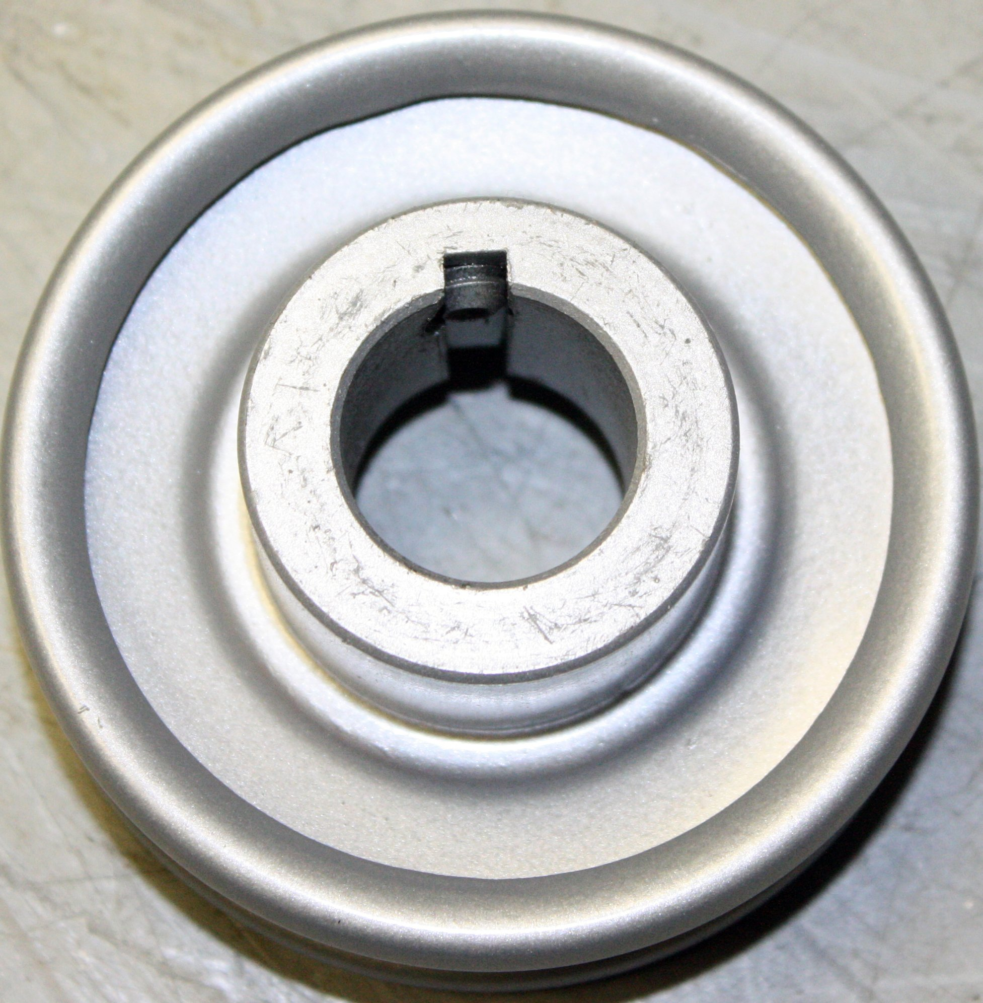 Rotary 769 3'' Steel V Idler Pulley P-323 7/8'' CH 3/16'' Keyway