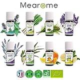8 ätherische BIO Öle • für Diffuser- AROMATHERAPIE Set • Ätherisches Öl • 100% naturrein • ideal als Duftöl / Aroma Diffuser
