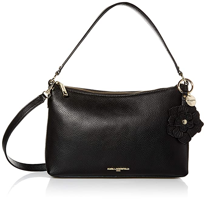 Amazon.com: Karl Lagerfeld Paris Heather Pebble - Bolso ...