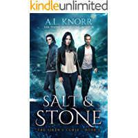 Salt & Stone: A Water Elemental Novel & Mermaid Fantasy (The Siren's Curse Book 1)