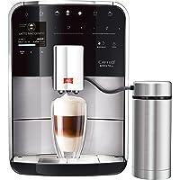 Melitta Caffeo Barista TS F760-200 Kaffeevollautomat mit Milchbehälter   intenseAroma Funktion   One Touch Funktion   21 Kaffeevariationen   TFT-Farbdisplay   Touch&Slide   Edelstahl