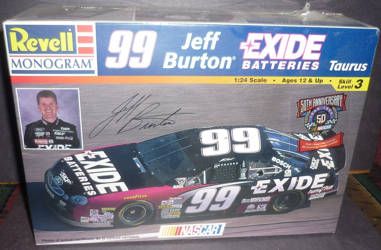Model Car, 99 Jeff Burton Exide Taurus, 1:24 Scale, Nascar