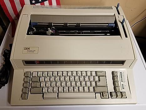 IBM/Lexmark 6781 Wheelwriter de máquina de escribir 1000