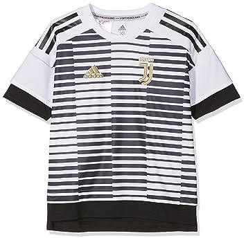 adidas Juve H Preshi Y Camiseta Calentamiento, Niños: Amazon.es: Deportes y aire libre