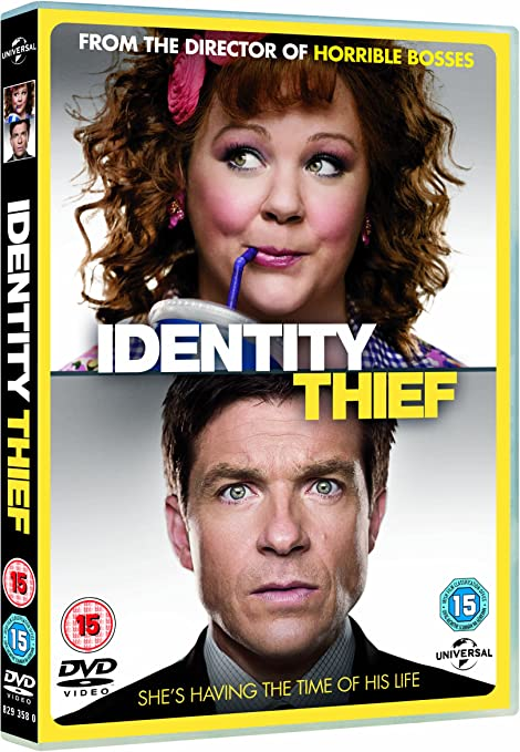 Identity Thief Dvd 2012 Amazon Co Uk Jason Bateman Melissa Mccarthy John Cho Seth Gordon Jason Bateman Melissa Mccarthy Dvd Blu Ray