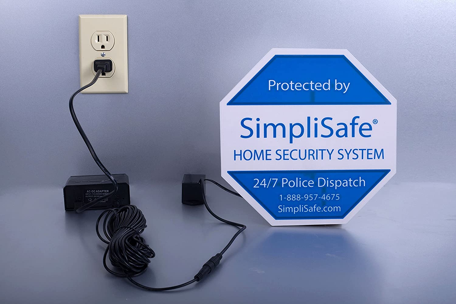Self Illuminated Yard Sign For Simplisafe Home Security System Wiring Dummies Camera Photo