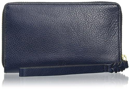 Fossil - Caroline, Carteras Mujer, Blau (Midnight Navy), 15 x 1.9 x 8.5 cm (BxTxH): Amazon.es: Zapatos y complementos