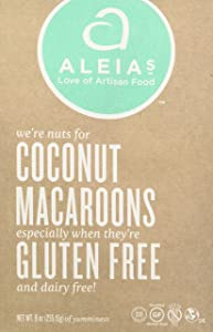 Aleia's Gluten Free Foods Coconut Macaroons, 9 Ounce