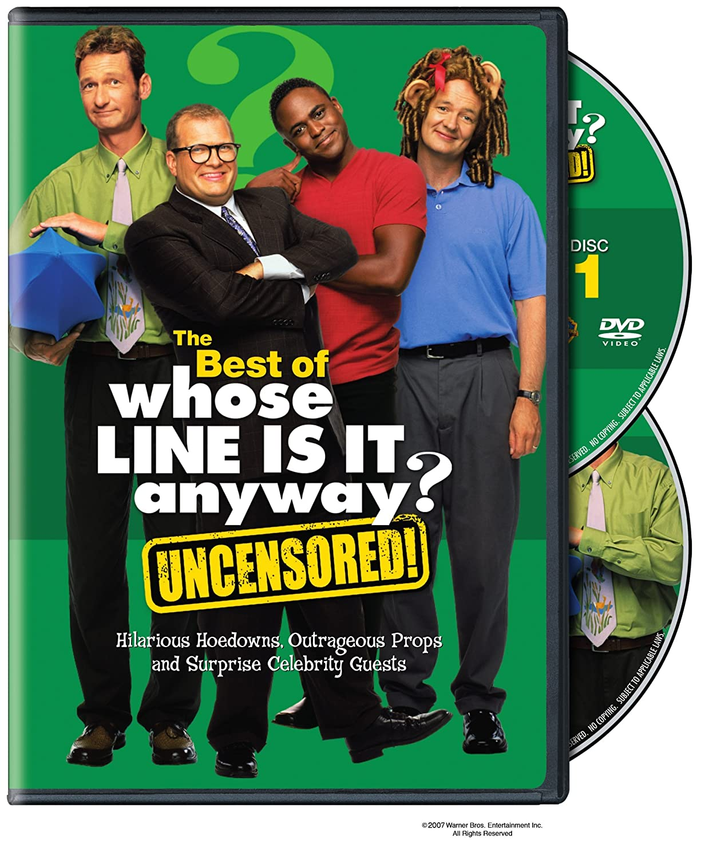 The Best of Whose Line is it Anyway? Various Warner Bros. Home Video 5072332 Comedies