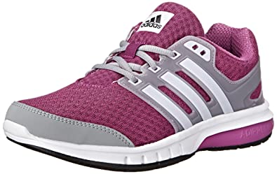 low priced 7cd61 ac9c6 adidas Performance Womens Galaxy Elite W Running Shoe, Lucky  PinkWhiteGrey,