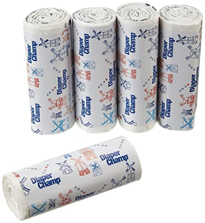 Innovaciones Vital 04000-7304 bolsas de basura para cubo de pañales pañal Champ, regulares