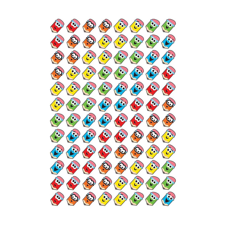 TREND enterprises 800 ct T-46061 Inc Perky Pencils superShapes Stickers