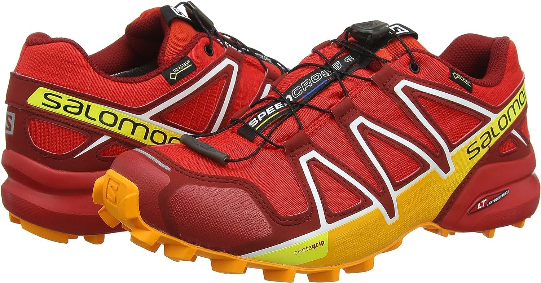 SALOMON Mens Speedcross 4 GTX Trail Running Shoes Waterproof