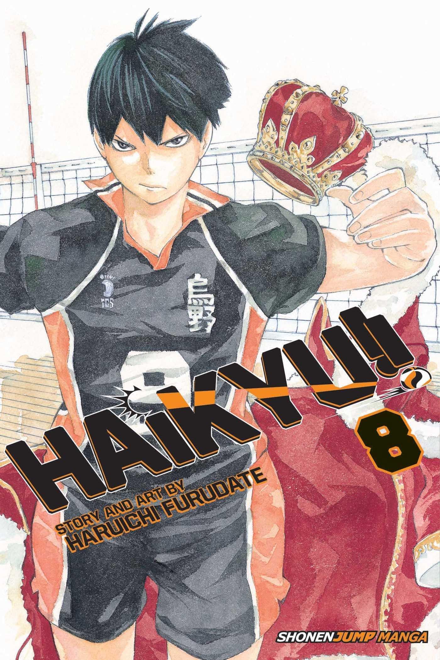 Haikyu!! - Tomo 08 - Haruichi Furudate - Manga ( Ingles)