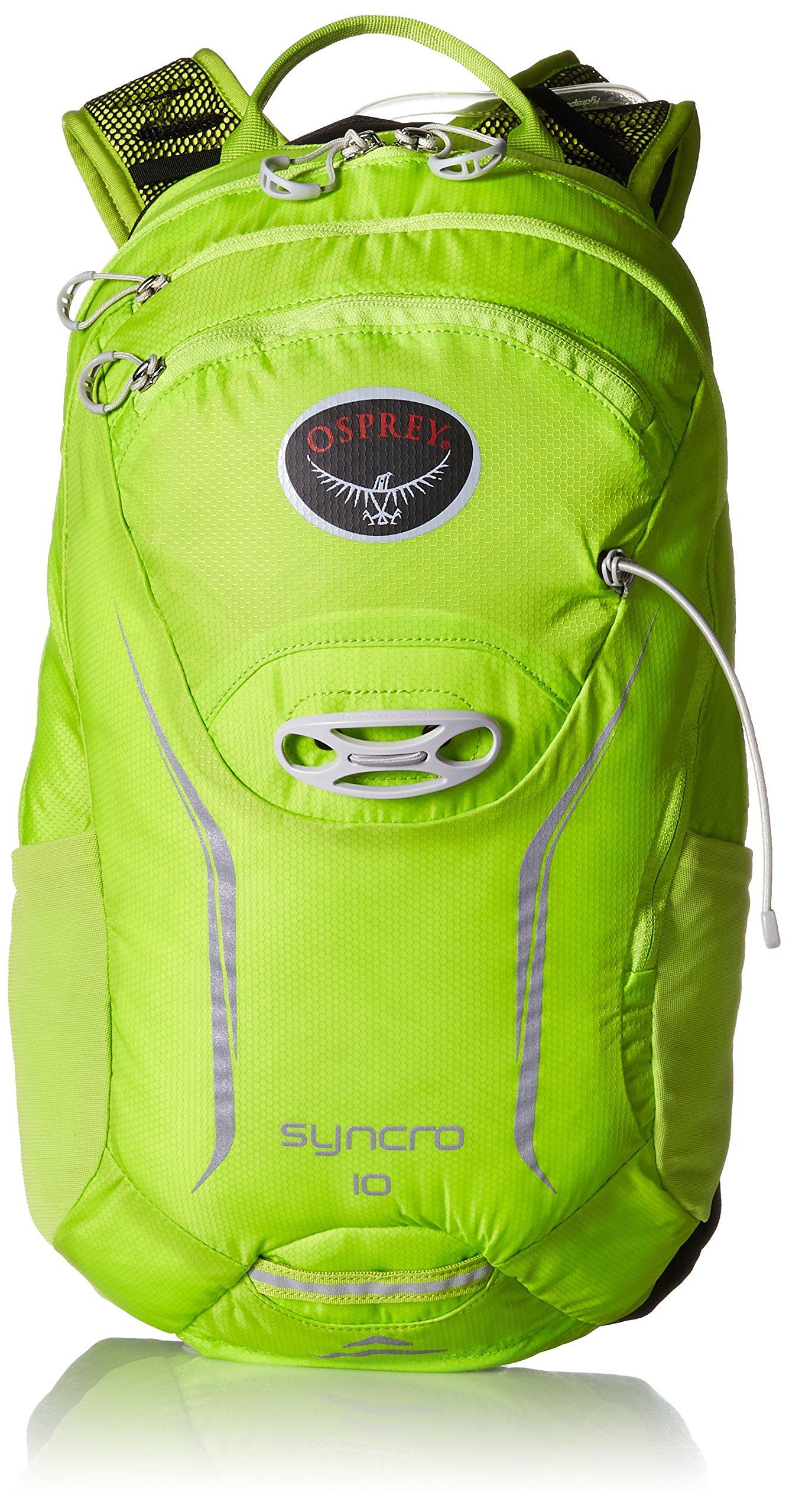 Osprey Packs Syncro 10 Hydration Pack, Velocity Green, Small/Medium