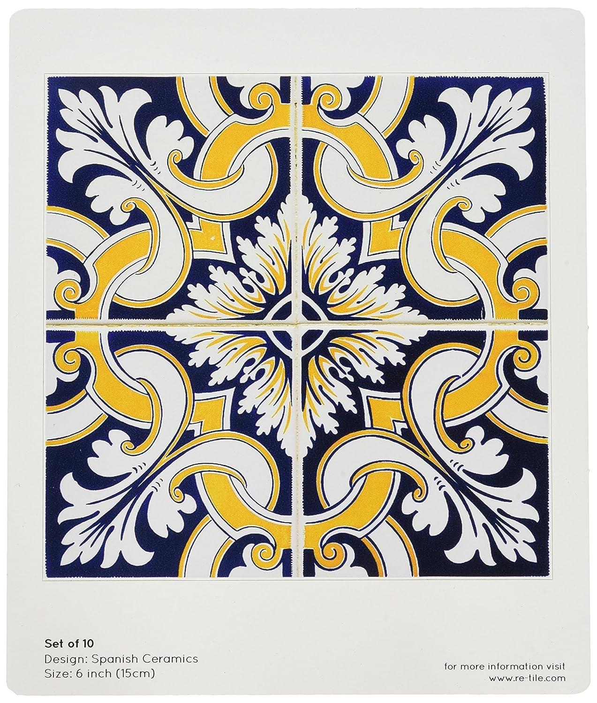 Odhams Press Classic Inspirations Spanish Ceramics Re-Tile Decal 6