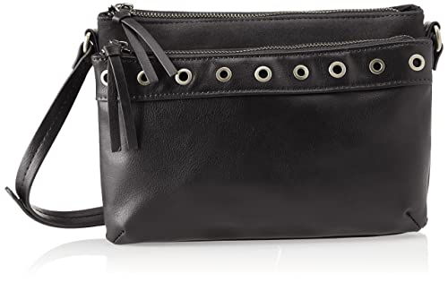Bata 9616953, Womens Cross-Body Bag, Nero, 4x17x25 cm (W x H L) Bata