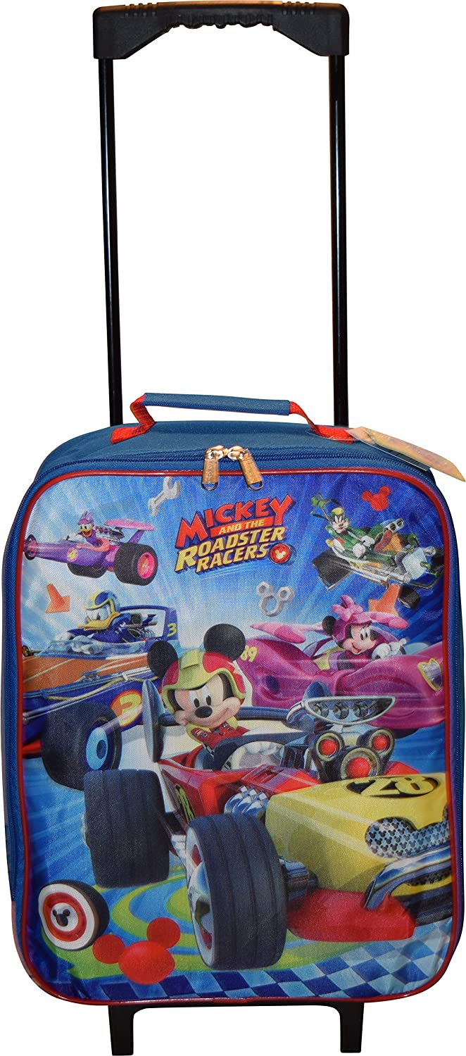 Disney Junior Mickey and The Roadster Racers 15 Collapsible Wheeled Pilot Case - Rolling Luggage Grupo Ruz S.A. de C.V.