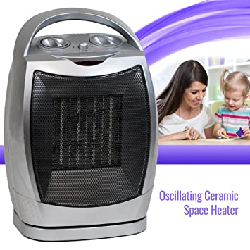 oscillating ceramic space heater fan home office portable adjustable thermostat amazoncom stills office space