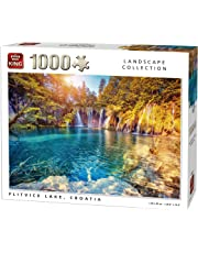 King 5651 Plitvice Lake Jigsaw Puzzle 1000-Piece, 68 x 49 cm