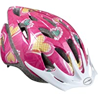 Schwinn Thrasher Girl's Microshell Bicycle Helmet (Pink/Hearts)
