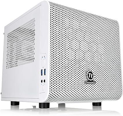 Thermaltake Core V1 Snow Edition Mini ITX Chassis - Caja de ...